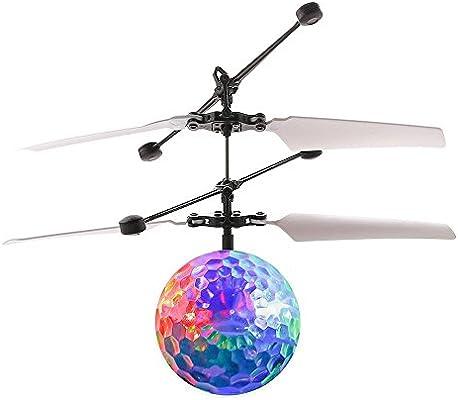 Docooler Infrarrojo Drone de inducción Fantástico Colorido Bola ...