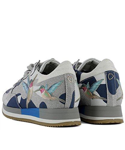 Philippe Model Dame Tbldbg10 Multicolour Leider Sneakers