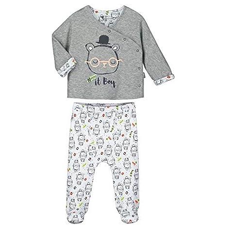 3d657835a45dd Pyjama bébé 2 pièces avec pieds Mini Boy - Taille - 9 mois (74 cm ...