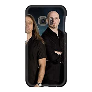 LauraAdamicska Samsung Galaxy S6 Bumper Hard Phone Covers Support Personal Customs Lifelike Kamelot Band Image [GZC1064SRAS]