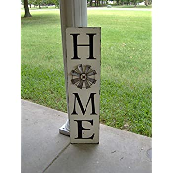 Amazon.com: Home Sign Wood Wood Sign Vertical Signs Wood ...