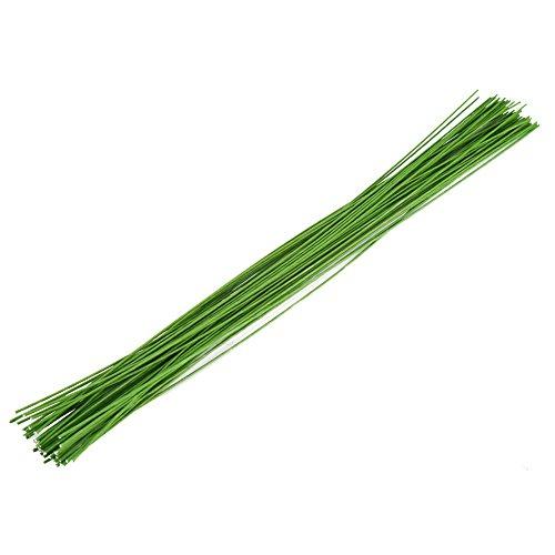 Decora 22 Gauge Green Floral Wire 16 inch,50/Package