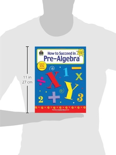 How to Succeed in Pre-Algebra, Grades 5-8: Charles Shields ...