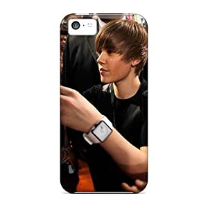 Iphone 5c Case Slim [ultra Fit] Justin Bieber Giving Autographs Protective Case Cover