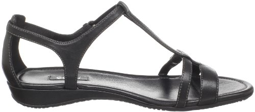 Sandalia Ecco Mujeres Bouillon T-strap Black