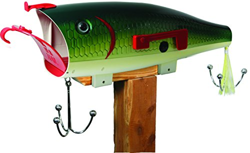 Fish Mailbox - REP Giant Lure Mailbox   Bass  Exclusive Color