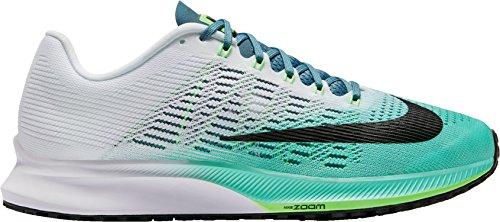 Nike Kvinner Zoome Elite 9 Joggesko Oss Hvit / Turkis