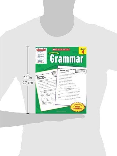 Amazon.com: Scholastic Success With Grammar, Grade 4 (Scholastic ...