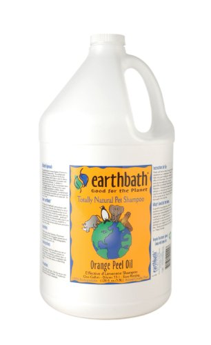 (Earthbath Orange Peel Oil Concentrated Shampoo, 1-Gallon)