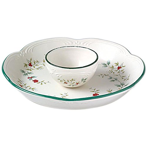 Winterberry Chip and Dip Set
