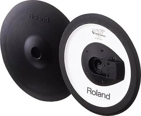 Roland CY-14C V-Cymbal Crash - Black (Roland Drum Cymbals)