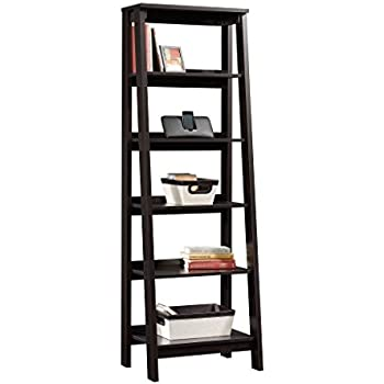 Sauder 5 Shelf Bookcase, Jamocha Wood