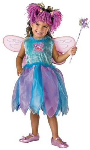 Deluxe Abby Cadabby Costume - Toddler Large by (Sesame Street Abby Costume)