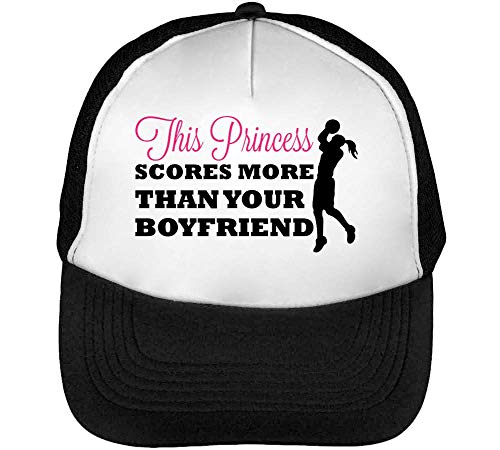 Scores Boyfriend Hombre Than Snapback Princess Negro This Beisbol Your Blanco Gorras More Xwfx5a