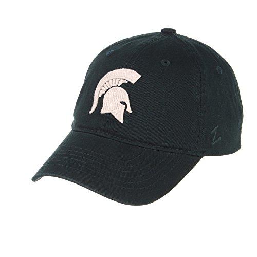 Elite Fan Shop Michigan State Spartans Team Hat Green - Adjustable