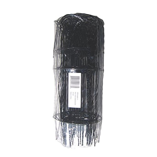 Woven Wire Fences (MTB Black Garden Border Edging Folding Fence Roll 14