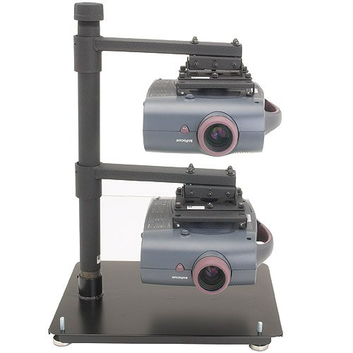 Chief LCD2TS Stack Multiple Projector Stand - Metal - Black
