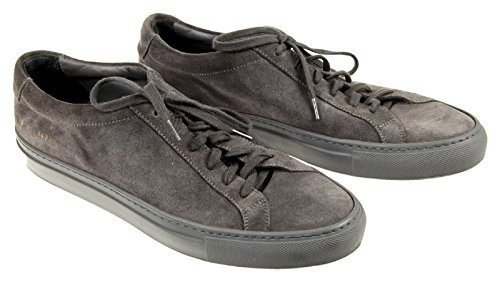 common-projects-original-achilles-suede-sneakers-gray-size-41-eu-11-us-new