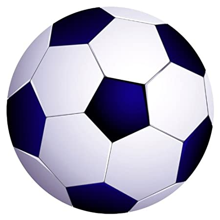Celebrity Cutouts Figura de balón de fútbol I para pared: Amazon ...