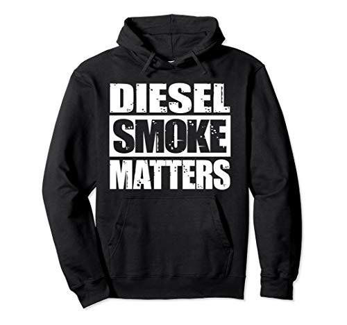 0b8964b2f4 BLACK DIESEL SMOKE MATTERS, Diesel Truck Roll Coal Hoodie