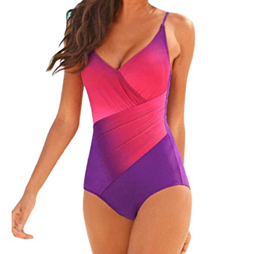 Sunfei Swimwear Gradient Swimsuit Bathing