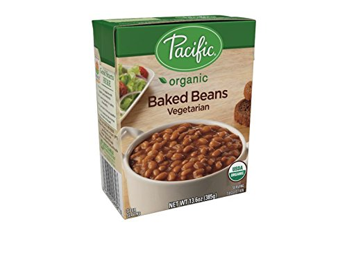Pacific Foods Organic Baked Beans Vegetarian, 13.6 oz