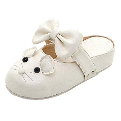 Shoes Closed Beige Toe COOLCEPT Cute Women Snpxg