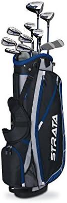 Callaway Men's Strata Plus Complete Golf Club Set with Bag (16-Pi