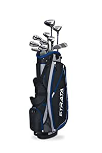 Callaway Golf Strata Plus, 16-Piece Men's Golf Set, Right handed