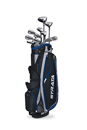- Callaway Men's Strata Plus Complete Golf Set, Prior Generation (16-Piece, Left Hand)