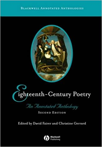 Eighteenth-Century Poetry  An Annotated Anthology (Blackwell Annotated  Anthologies)  Amazon.co.uk  David Fairer 6caca0181