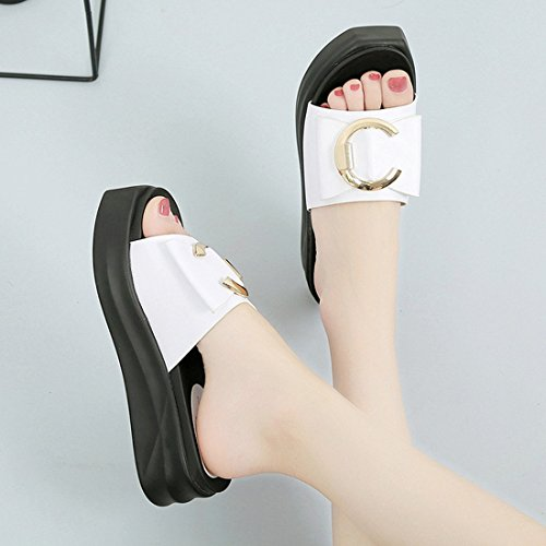Pantofole Con Esterno Scarpe sette cool Khskx Fondo Parola Femminili Trenta Passeggio Estivi Spesso Da Per Sandali PrPBvgwq
