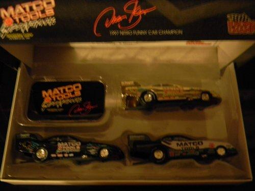 1997 Dean Scuza Matco Supernationals Nitro Funny Car Champion 3 pce car - Car Funny Nitro