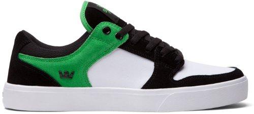 Supra Vaider Lc - Heren Zwart / Groen / Wit - Wit