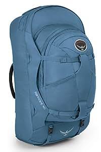 Osprey Packs Farpoint 70 Travel Backpack, Caribbean Blue, Small/Medium