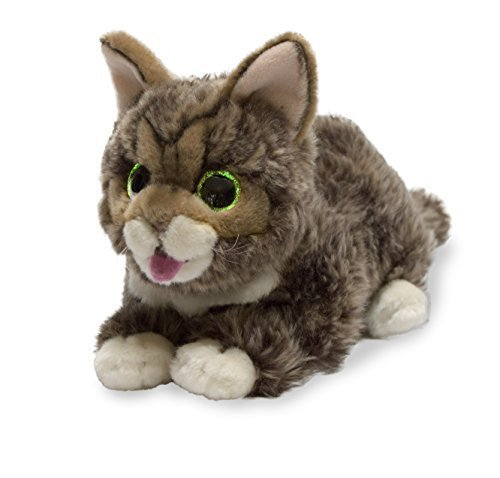 Cuddle Barn Lil Bub Glow and Purr Adorable Kitten / Cat Kitty Plush Toy by Cuddle Barn