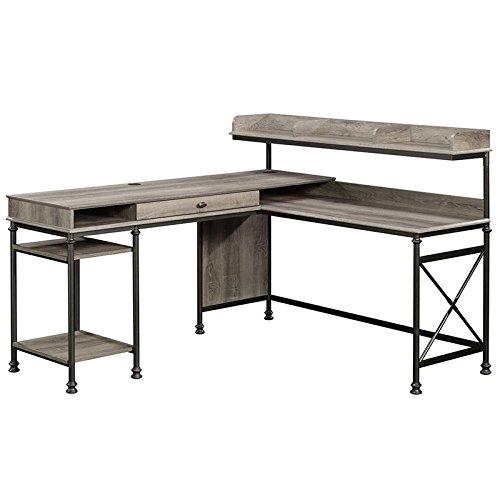 (Sauder 420509 Canal Street L-Desk, L: 60.75