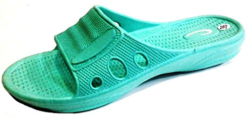 Sintético casa Zapatillas Acqua mujer 36 de de dema Material estar verde para por q0BnOI