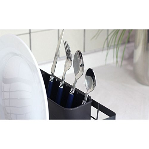 Stylish Sturdy Oil Rubbed Bronze Metal Wire Small Dish Drainer Drying Rack by Neat-O (Image #4)'
