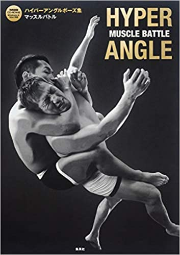 Pose Book Hyper Angle Pose Collection vol.2 shape of men with CD-ROM Japan Book