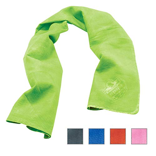 Ergodyne Chill-Its 6602 Evaporative Cooling Towel, Lime ()