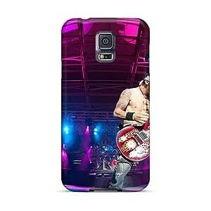 Samsung Galaxy S5 JPN12564aNYm Custom Vivid Godsmack Band Series Best Hard Phone Case -KennethKaczmarek