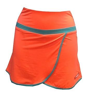 NOX Falda Padel Mujer Neon Coral XL: Amazon.es: Deportes y ...