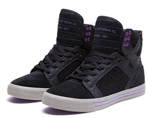 Nero Noir Noiz Adulto Unisex Sneaker Blanc Supra nW1c76qa7