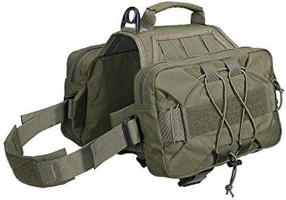 EXCELLENT ELITE SPANKER Dog Pack Hound Dog Saddle Bag Backpack for Travel Camping Hiking Medium & Large Dog2 Capacious Side Pockets / EXCELLENT ELITE SPANKER Dog Pack Hound Dog Saddle Bag Backpack for Travel Camping Hiking Medium &...