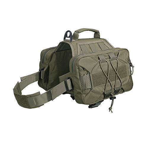 EXCELLENT ELITE SPANKER Dog Pack Hound Dog Saddle Bag Backpack
