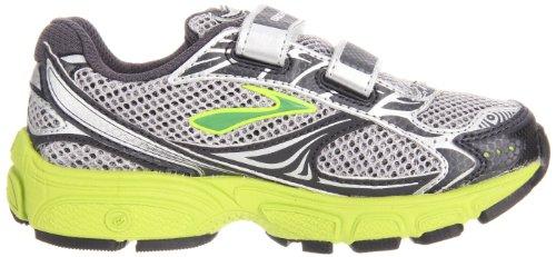 Brooks - Zapatillas de running para niño Plata - Silver/GREEN