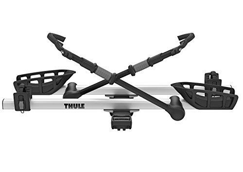 """Thule T2 Pro XT 2 Bike Rack, Silver, 2"""""""