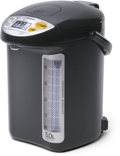 Zojirushi CD-LTC50-BA Commercial Water Boiler and Warmer, Black