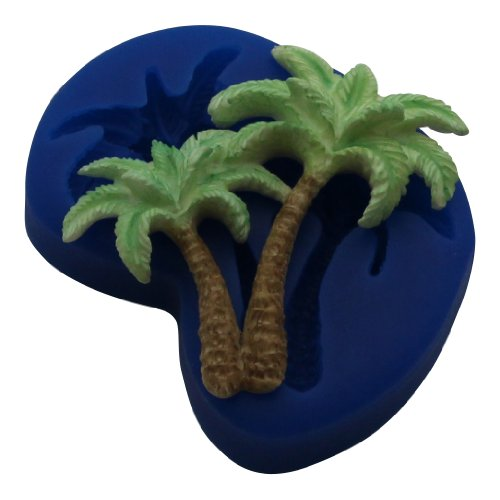 Tree Duo (First Impressions Molds TL125 Silicone Mold, Palm Tree Duo)